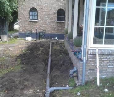 afvoer installaties vervangen woonhuis