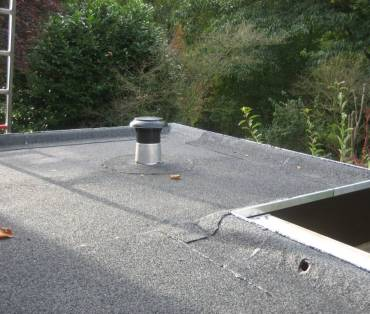 Bitumen dak installatie