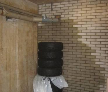 Lekkage zichtbaar aan de muur