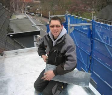 Jos installatie zinken dak