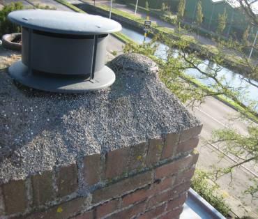 Vervanging van ventilatie dak doorvoer