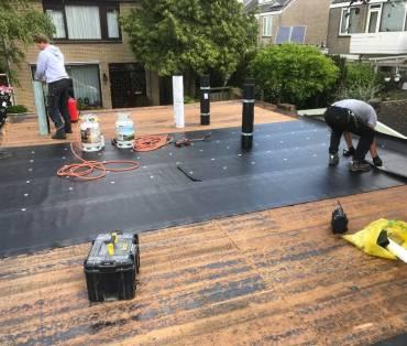 bitumen dak bedekking aanleggen